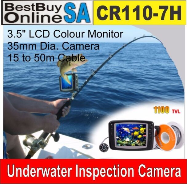 CR110-7H Underwater Camera System - Fishing Camera (No DVR)