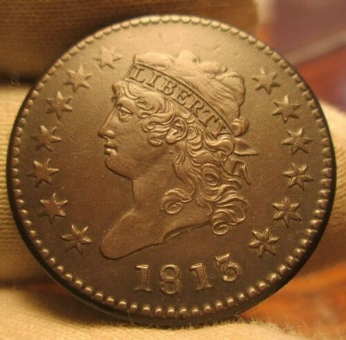 1813 Large Cent  very sharp!!!!!!!