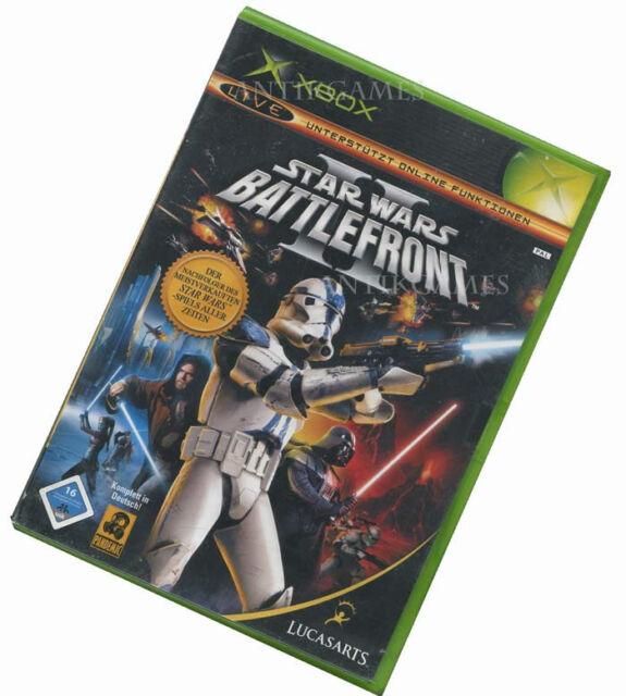 Star Wars Battlefront 2 II XBOX Lucasarts Deutsch mit XBOX LIVE auf XBOX 360