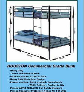 NEW SINGLE BUNKS COMMERCIAL Quality Cash $499 Or Rent $8 P/W Ipswich Region Preview