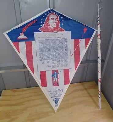 Kite Paper (Vintage Top Flite Kite Paper 60's-70's?New old stock Declaration of)