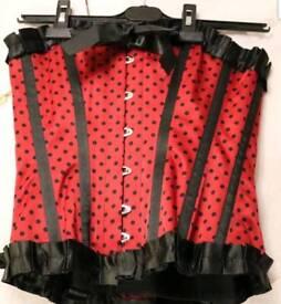 28 inch steel boned corset