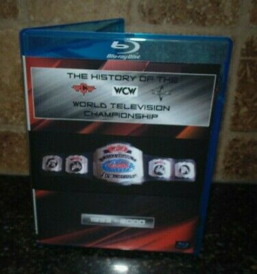 History of the WCW World Television TV Title Championship Blu-ray Best