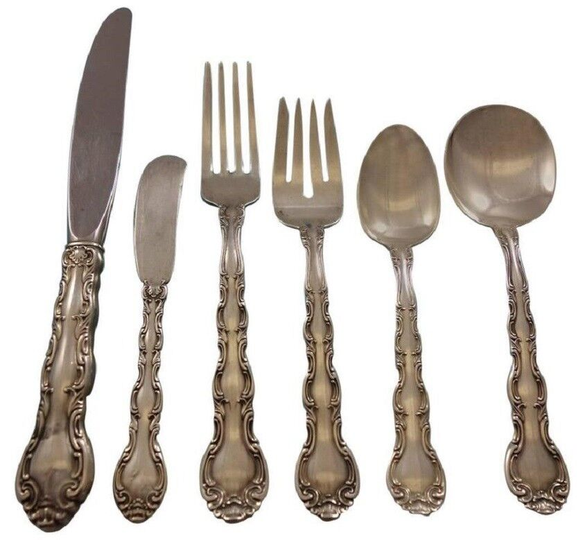 """French Scroll by Alvin Sterling Silver Cocktail Fork 5 1//8/"""""""