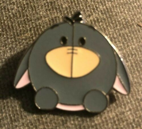 DISNEY TRADING PIN - EEYORE FROM WINNIE THE POOH CUTE AND ROUND