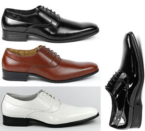 Delli-Aldo-Men-039-s-Lace-Up-Plain-Oxford-Dress-Shoes-w-Leather-lining-M-19121