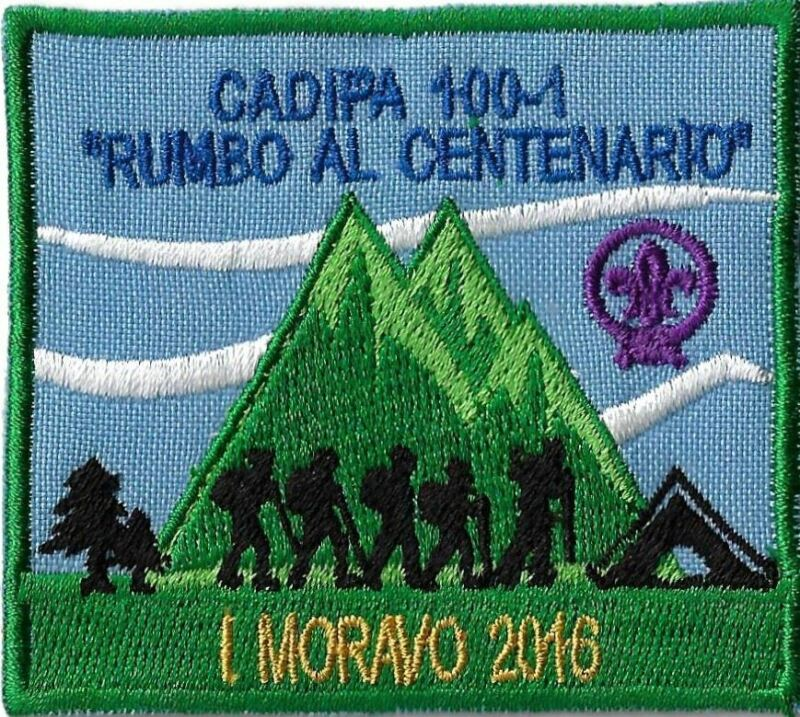Cadipa 100-1 Rumbo Al Centenario Moravo 2016 GRN Bdr. [MX-11611]