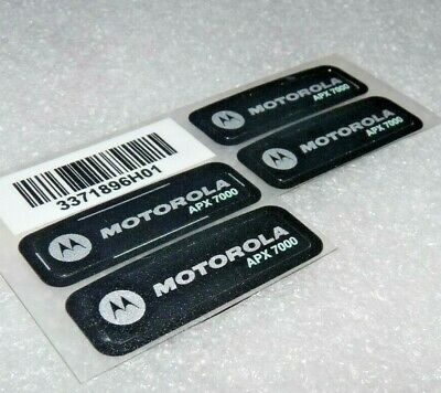 Motorola Solutions 3371896h01 Label Grill Top Nameplate For Apx7000 Radios New