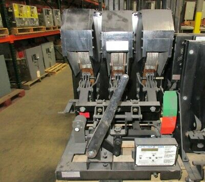 Rs-50 Roller Smith 1600a Modo Lsig Air Circuit Breaker