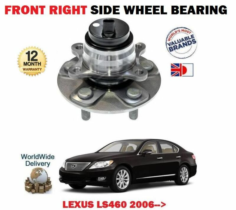 FOR LEXUS LS460 1UR-FSE 32v 2006-> NEW 1 X FRONT RIGHT WHEEL BEARING HUB KIT
