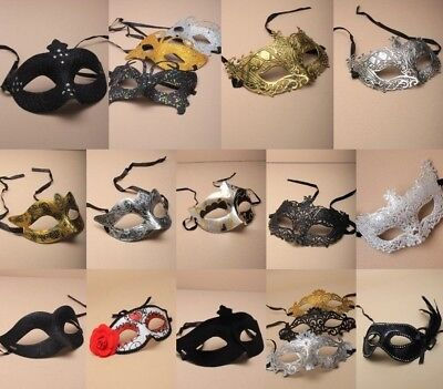 Masquerade Mask Single PartY Ball Fancy Dress CostumeHen Stag Theatre Halloween ()