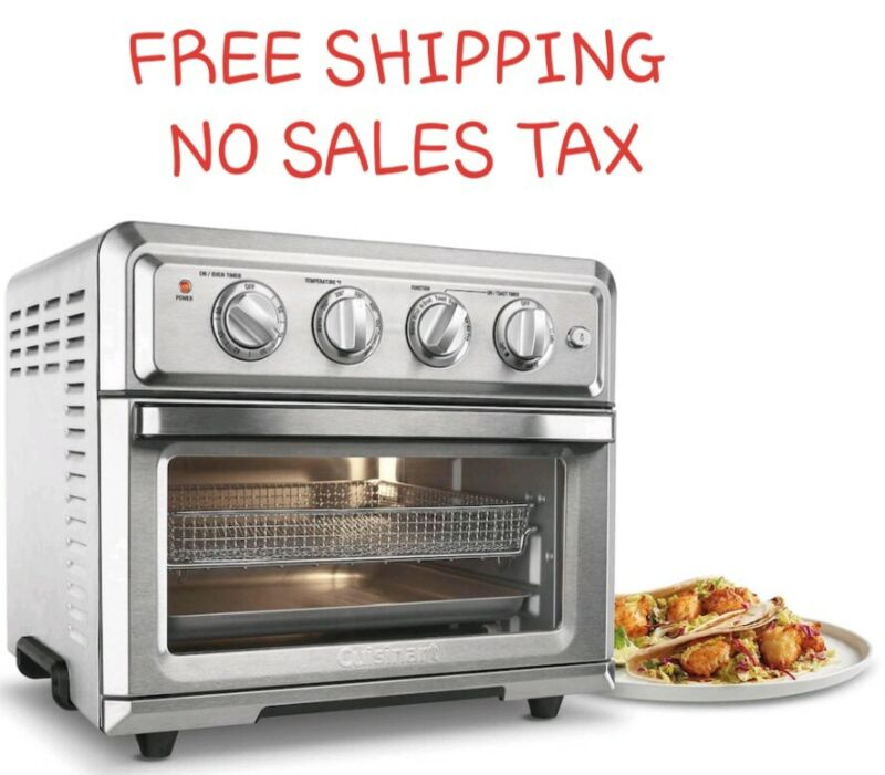 Cuisinart Air Fryer Toaster Oven Stainless Steel TOA-60