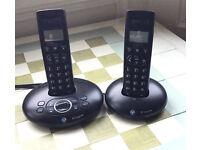 BT Graphite 1500 Ansaphone twin handset