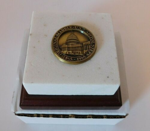 United States Capitol Building Marble Steps Paperweight Historical Society
