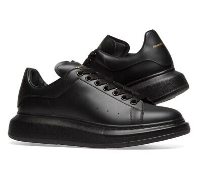 Alexander Mcqueen Black Oversized Trainers UK 9