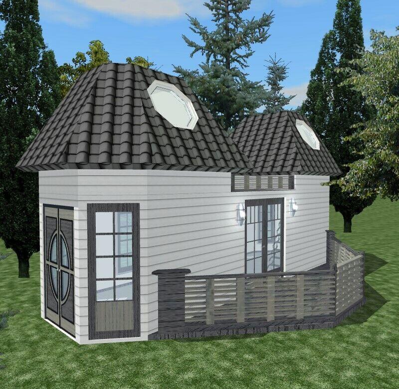 Tiny Home Designs, Elegant Ivy Leaf Designs