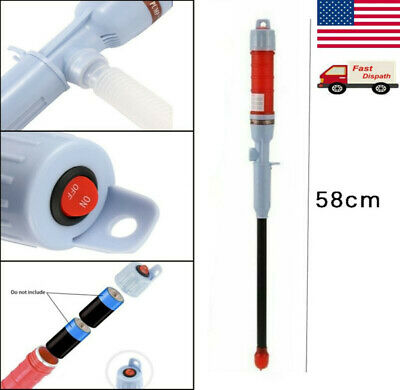Car Fuel Pump Powered Electric Outdoor Suction Water Pumps Liquid Transfer Us