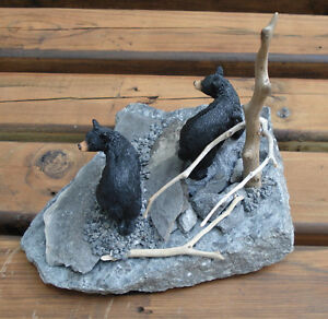 Hand Crafted Bears 3-D Table Sculpture Kingston Kingston Area image 5