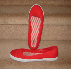 Red Casual Shoes - size 10