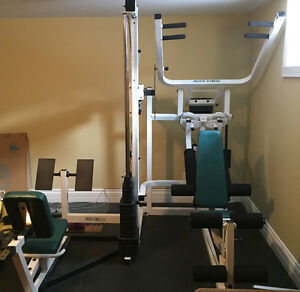 Del Mar Pacific Fitness home gym