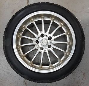 Performance Winter Tires and Rims