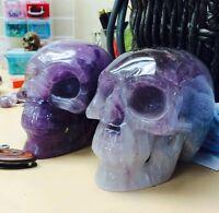 """5"""" Amethyst Crystal Skull"""