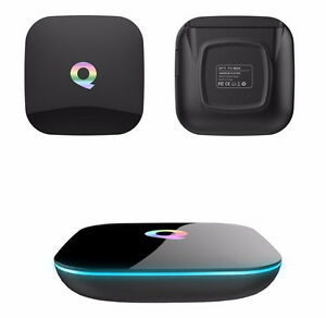 Q Box Android5.1 TV BOX Amlogic S905 64bits 2GB/16GB Gigabit 100