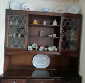 Top of a priory welsh dresser