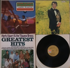 Job Lot - Herb Alpert Vinyl LP Record Albums.