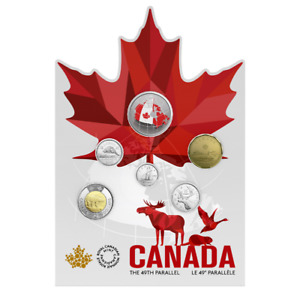 2018 From Far and Wide - Canadian Circulation 6-Coin Set