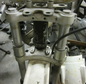 Can Am TNT175 steering stem triple clamps triple tree