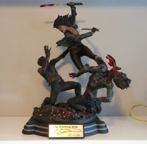 Signed Michonne Walking Dead Statue, 320/1500