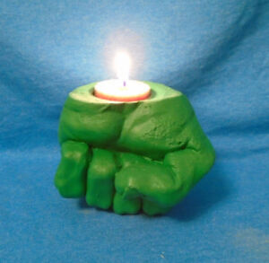 Incredible Hulk Fist Tealight Candle Holder