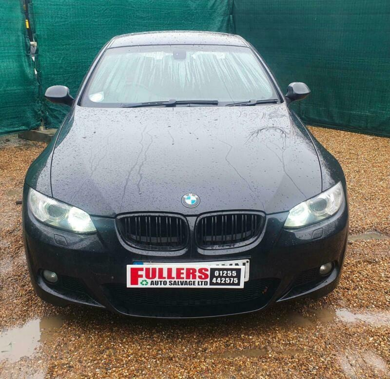 2008 BMW 3 Series 320i M Sport 2dr Auto DAMAGED REPAIRABLE SALVAGE COUPE Petrol