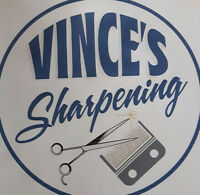 Sharpening, clipper blades, scissors, chisels, knives, chainsaws