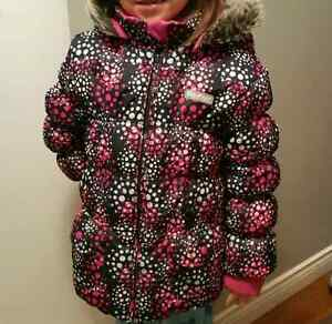 Carters Osh Kosh size 7 girls winter coat