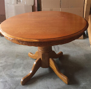 Moving Sale - dinette table and tv stand