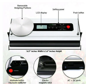 Cannabis Vacuum Sealer with Scale - NEW!