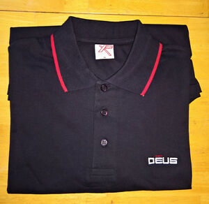 XP Deus Golf Polo Collared Cotton Shirt - Size-XL