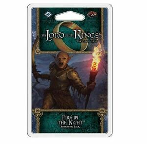 The Lord of the Rings LCG: Fire in the Night Adventure Pack - New
