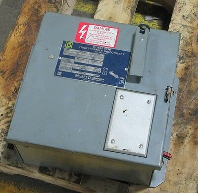 Square D 9070 Sk5271r F31 Ser A Transformer Disconnect 200250 Va Pzf