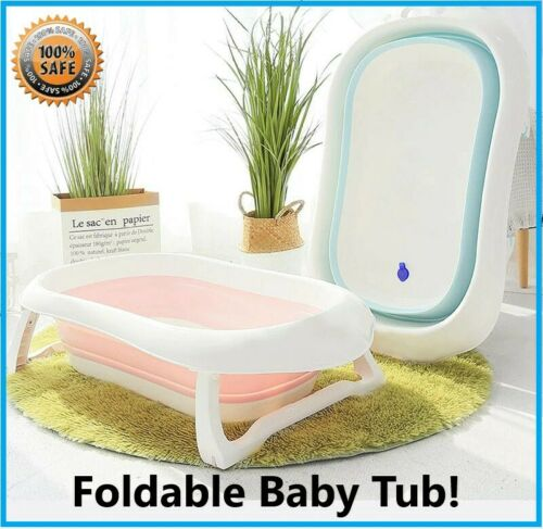 Baby Folding Bath Tub safe and non toxic materials Non-Slip User-friendly design