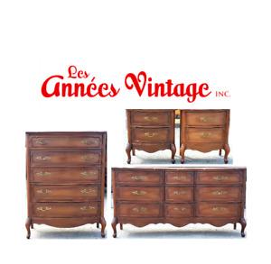 Ensemble Vintage Shabby Chic Provençal Français