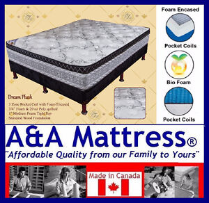 NEW *Queen &*King Mattress or Boxsprings NO TAX & *FREE DELIVERY London Ontario image 3