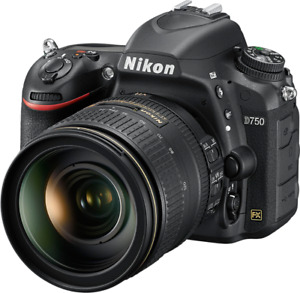 Nikon D750 with Lenses and Flash