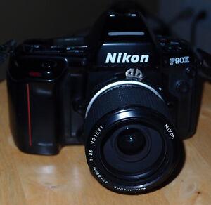 Nikon F90x Film Camera