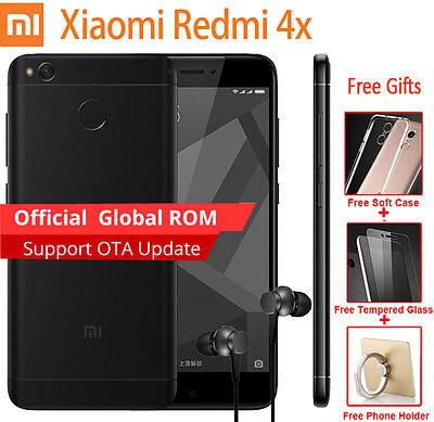 Original Xiaomi Redmi 4X 3 32Gb Snapdragon435 Octa Core 5  4100Mah 4G Smartphone