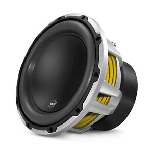 """JL Audio W6v2 Series 10"""" subwoofer with dual 4-ohm voice coils"""