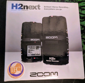 Zoom H2n + Windscreen - New in open box!