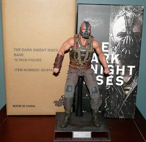 Hot Toys Bane Dark Knight Rises 1/6 Figure Tom Hardy